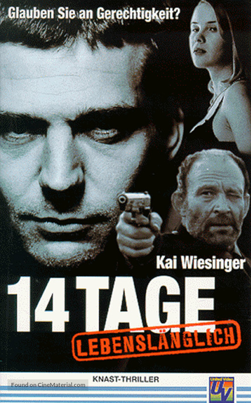 14 Tage lebenslänglich - German poster