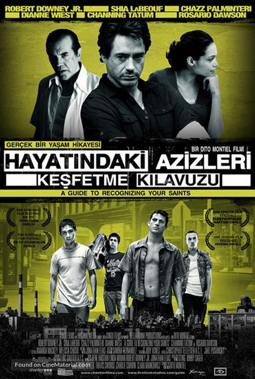 A Guide to Recognizing Your Saints - Turkish Movie Poster