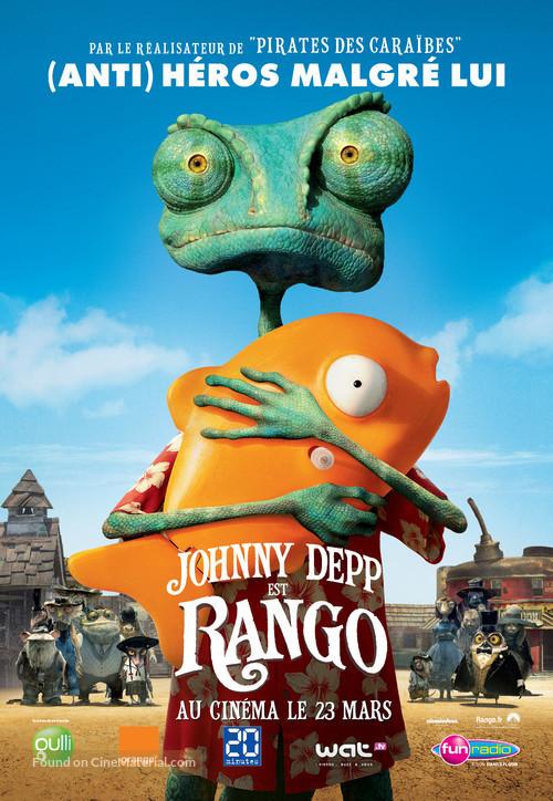 Rango - French Movie Poster