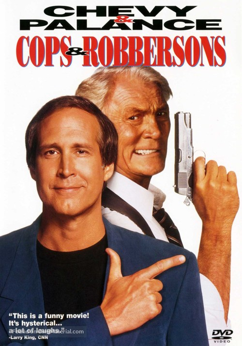Cops and Robbersons - DVD movie cover