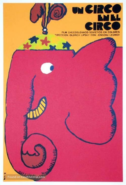 Cirkus v cirkuse - Cuban Movie Poster
