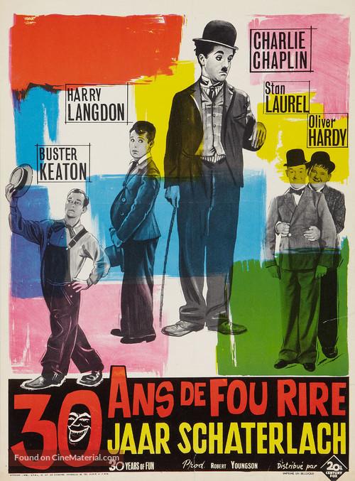 30 Years of Fun - Belgian Movie Poster