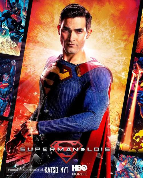 """""""Superman and Lois"""" - Finnish Movie Poster"""