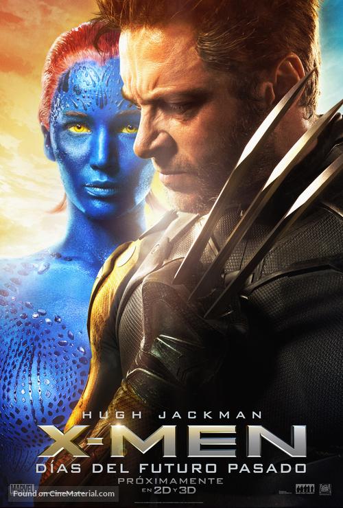 X-Men: Days of Future Past - Spanish Movie Poster