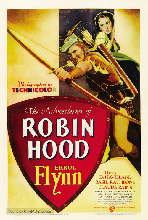 The Adventures of Robin Hood - Movie Poster