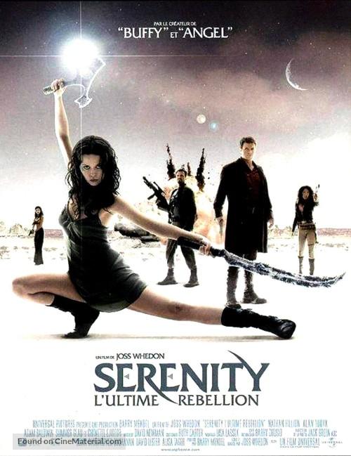 Serenity - French Movie Poster