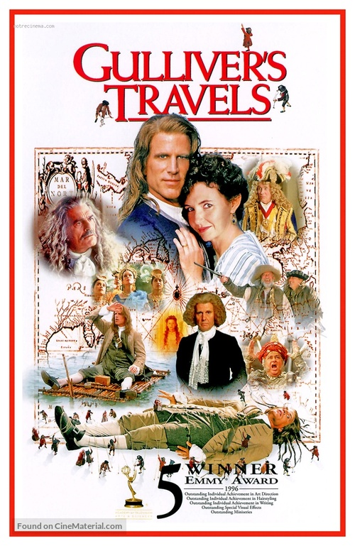 Gulliver's Travels - Movie Cover