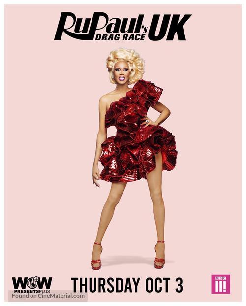 """RuPaul's Drag Race UK"" - British Movie Poster"