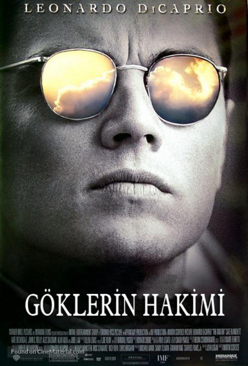 The Aviator - Turkish Movie Poster