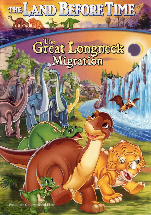 The Land Before Time X: The Great Longneck Migration - DVD movie cover