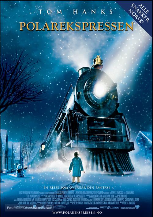 The Polar Express - Norwegian Movie Poster