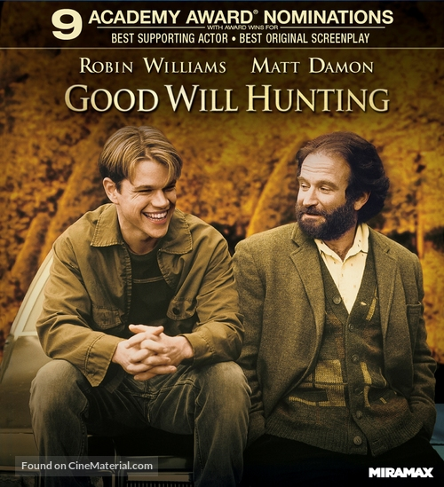 Good Will Hunting - Blu-Ray movie cover