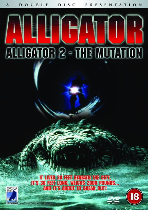 Alligator II: The Mutation - British Movie Cover