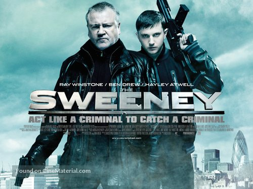 The Sweeney - British Movie Poster