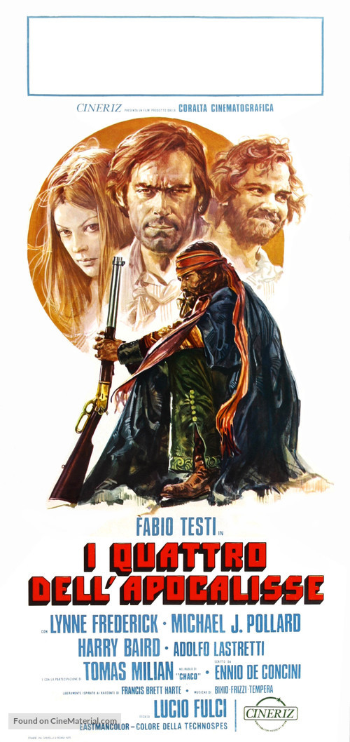 Quattro dell'apocalisse, I - Italian Movie Poster