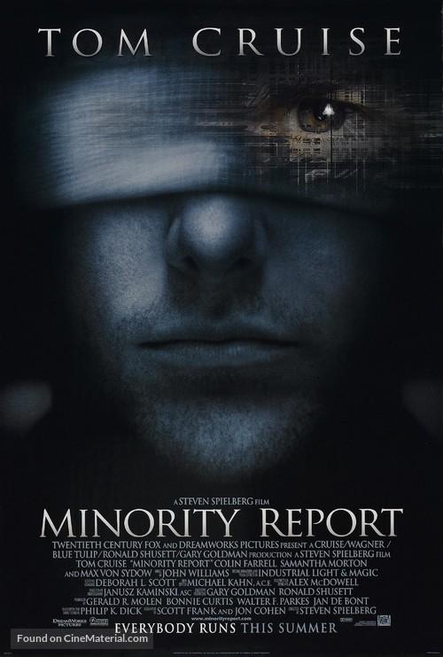 Minority Report - Movie Poster
