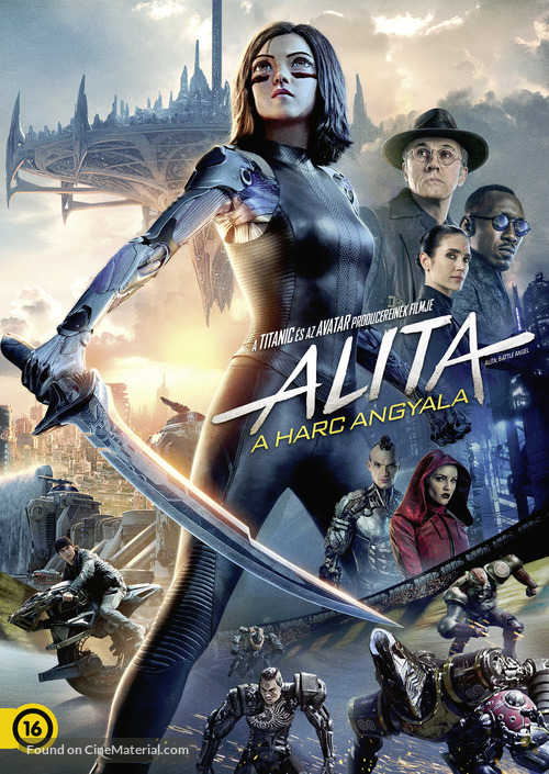 Alita: Battle Angel - Hungarian DVD movie cover