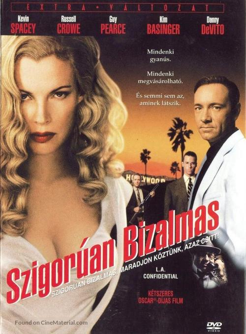 L.A. Confidential - Hungarian DVD movie cover