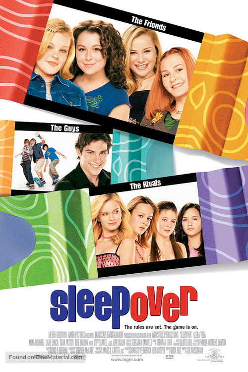 Sleepover - Movie Poster