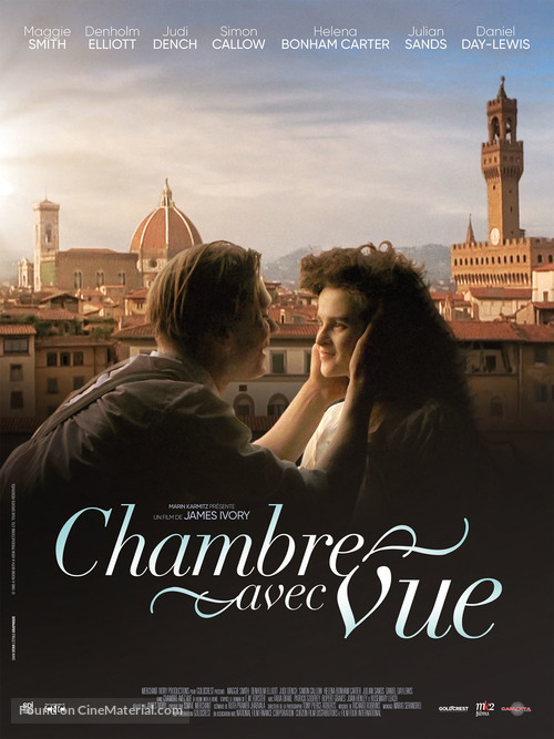 A Room with a View - French Re-release movie poster