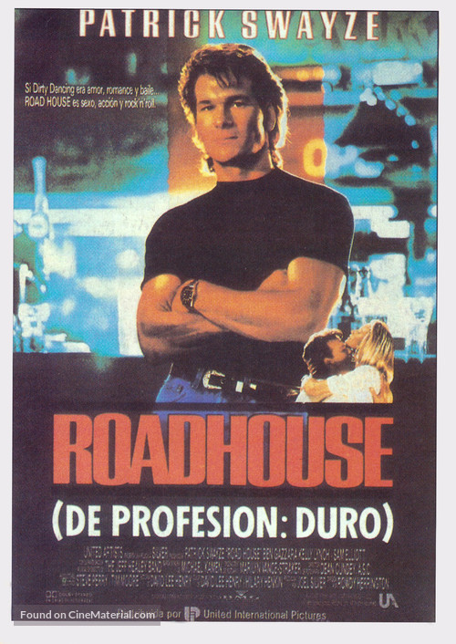 Road House - Spanish Movie Poster
