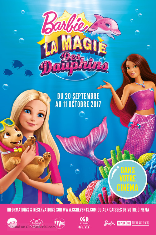 Barbie: Dolphin Magic French movie poster