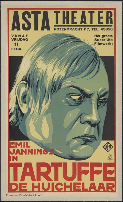 Herr Tartüff - Dutch Movie Poster
