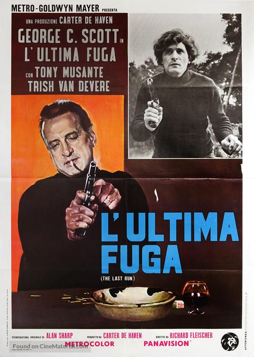 the last run italian movie poster