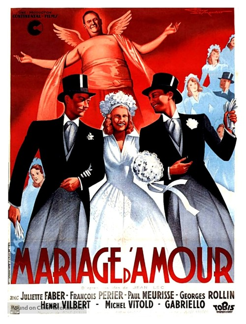 Mariage d'amour - French Movie Poster