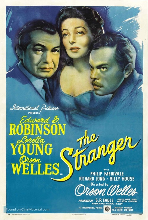 The Stranger - Theatrical movie poster