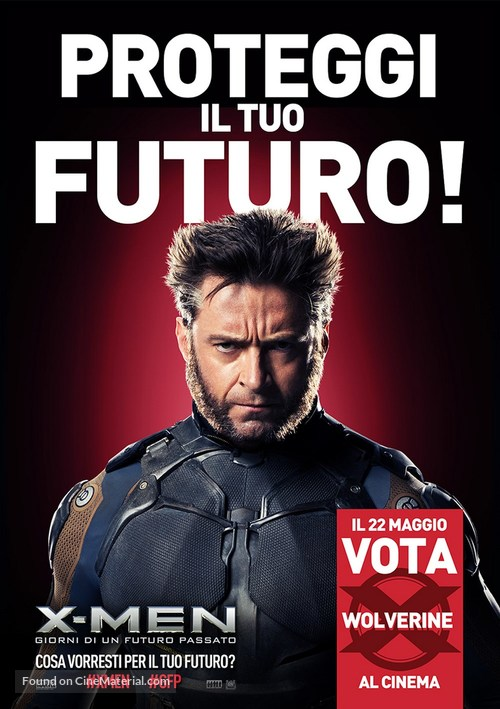 X-Men: Days of Future Past - Italian Movie Poster