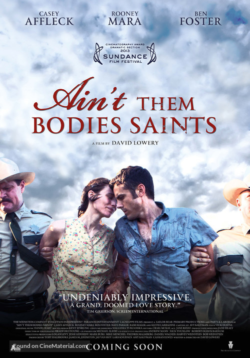 Ain't Them Bodies Saints - Dutch Movie Poster