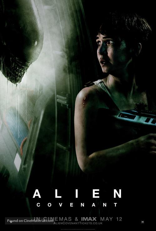 Alien: Covenant - British Movie Poster