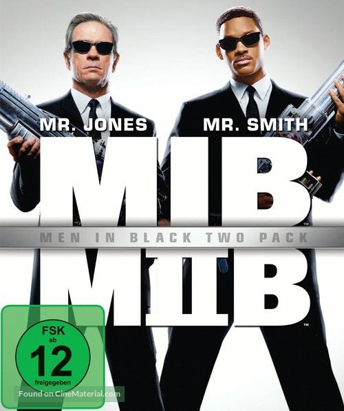 Men In Black Ii 2002 German Blu Ray Movie Cover