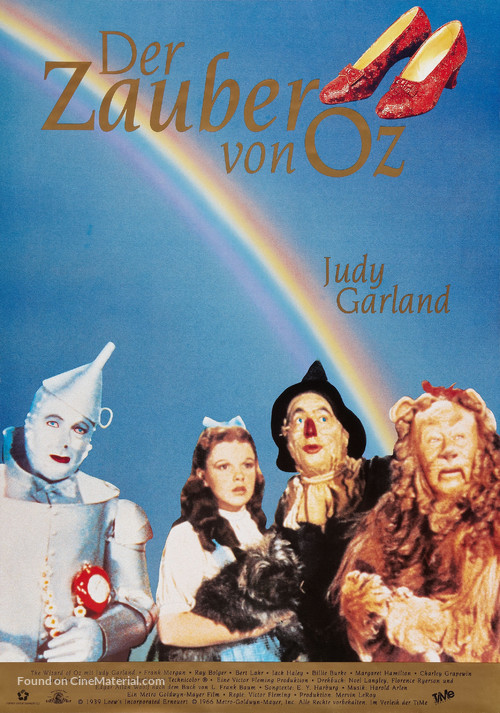 The Wizard of Oz - German Theatrical movie poster