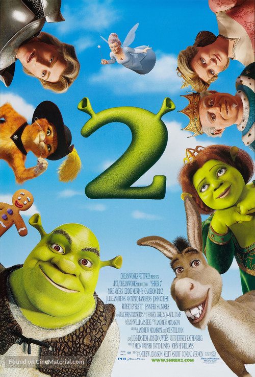 Shrek 2 - Movie Poster