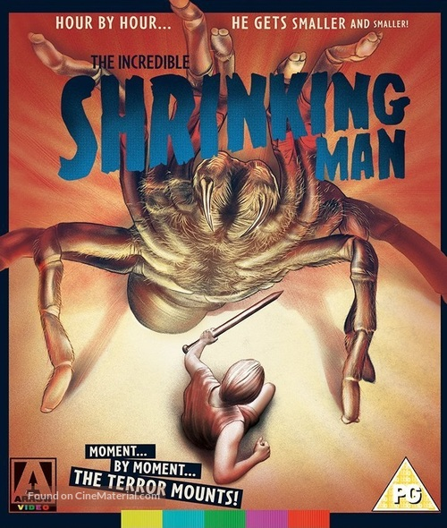 The Incredible Shrinking Man - British Movie Cover