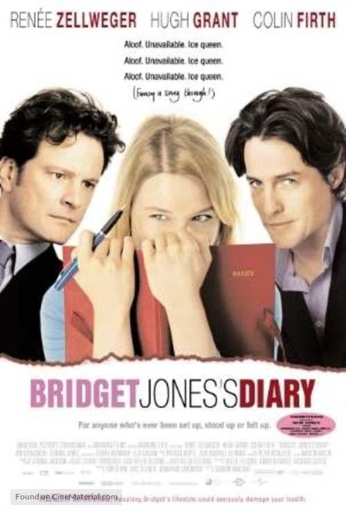 Bridget Jones S Diary 2001 International Movie Poster
