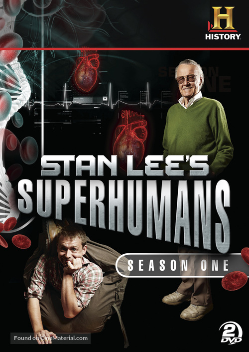 """Stan Lee's Superhumans"" - DVD movie cover"