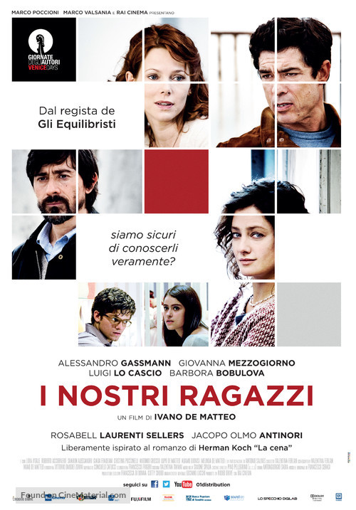 I nostri ragazzi - Italian Movie Poster