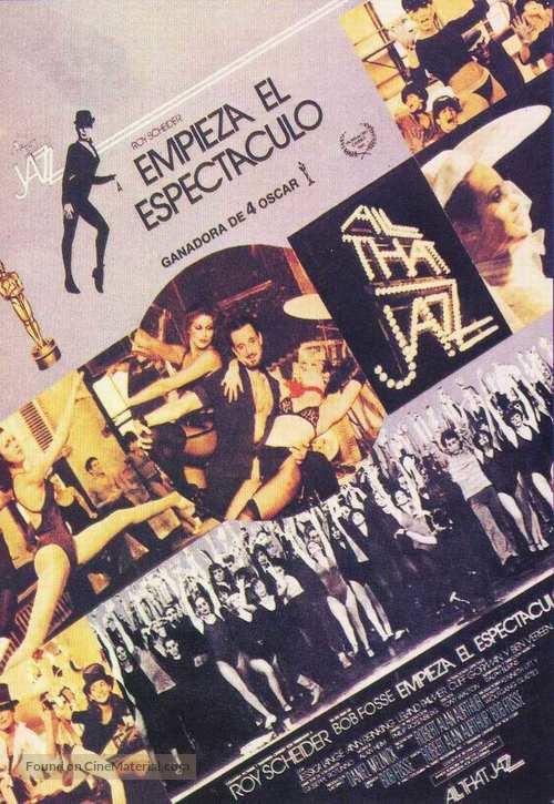 All That Jazz - Spanish Movie Poster