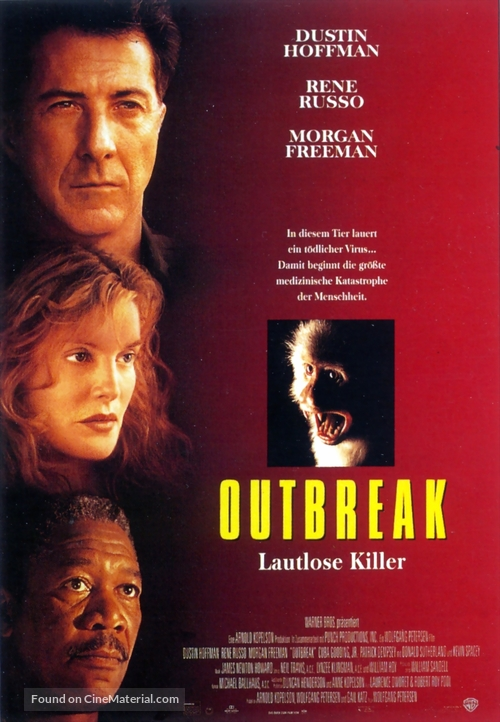 Outbreak - German Theatrical movie poster