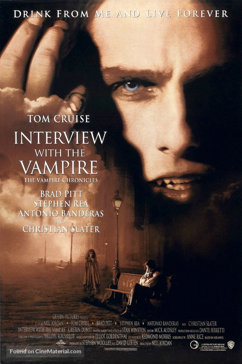 Interview With The Vampire - Movie Poster