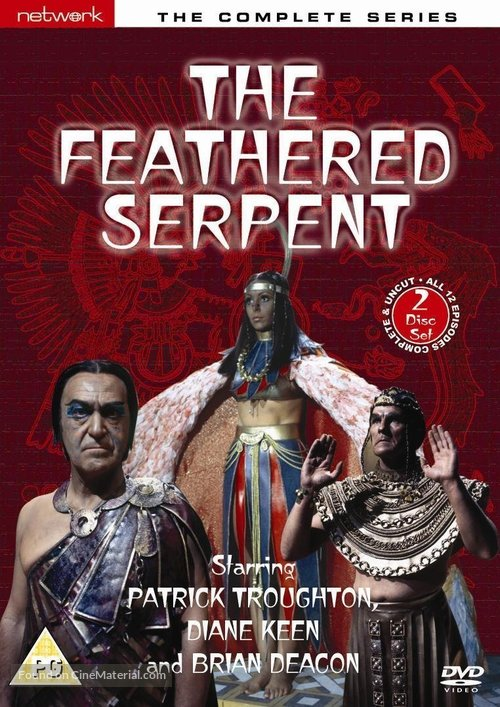"""""""The Feathered Serpent"""" - British Movie Cover"""