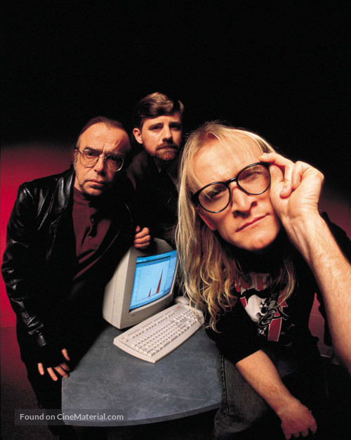 """The Lone Gunmen"" - poster"