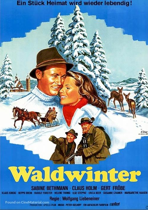 Waldwinter - German Movie Poster