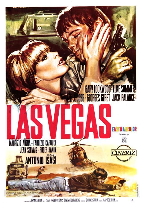 Las Vegas, 500 millones - Yugoslav Movie Poster