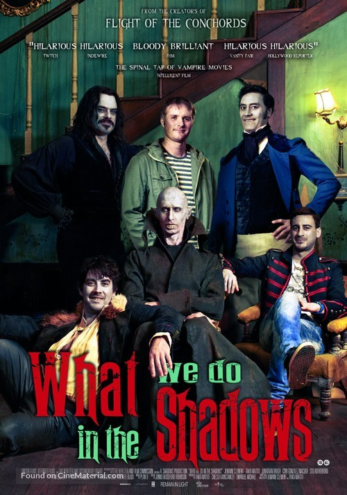 What We Do in the Shadows (2014) Dutch movie poster