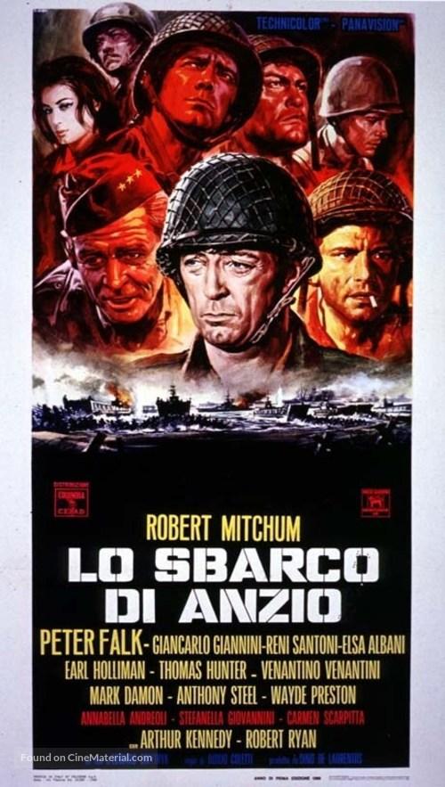 Lo Sbarco di Anzio - Italian Movie Poster