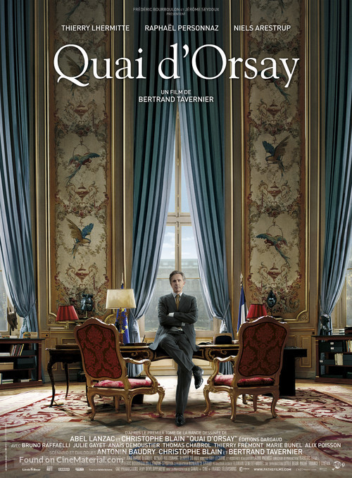 Quai d'Orsay - French Movie Poster